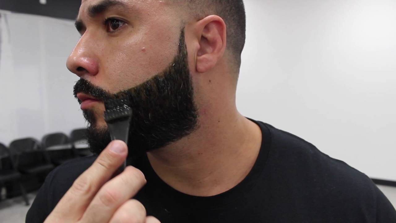 HOW TO DYE BEARD | BIGEN DYE | BY WILL PEREZ - YouTube