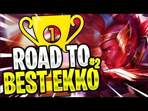 Maxske's Ekko   ROAD TO BEST EKKO ! #2 ( EKKO MID AND JG! )