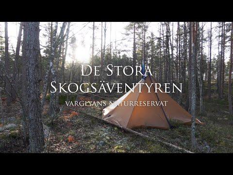 Vandring I Varglyans Naturreservat | Hiking In Wolf Den Nature Reserve.