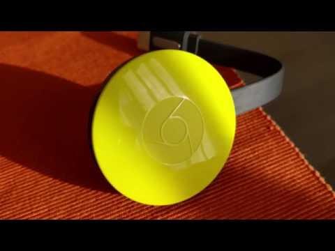 Google Chromecast yellow - unboxing italia