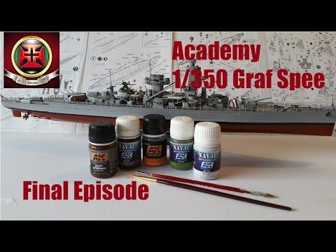 Academy 1 350 Admiral Graf Spee Episode 2