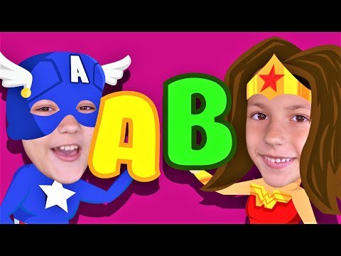 ABC SUPERHEROES Phonics Song! Kids Songs and Nursery Rhymes