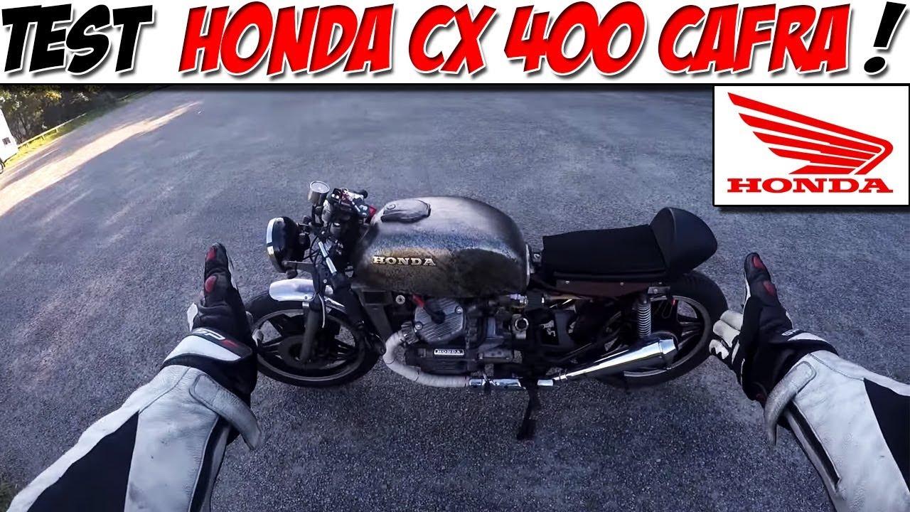 MotoVlog 13 TEST HONDA CX 400 CAFRA OLD SCHOOL STYLE