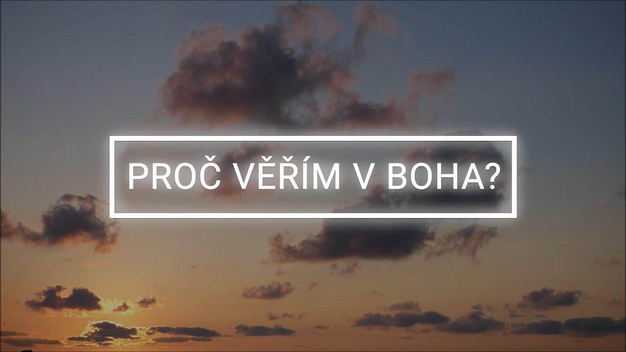 Další díl dokumentární série ,,PROČ VĚŘÍM V BOHA?''