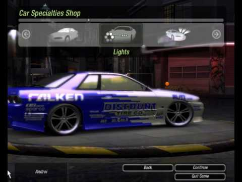 Nfsu2 Car Mods Skyline R32 Gts T Youtube