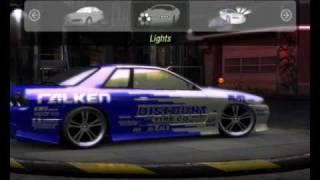 Repeat youtube video NFSU2 - CAR MODS - Skyline R32 GTS-t