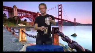 Фокусы с Пушистиком Байлом Урок 5   Прыжки из стакана