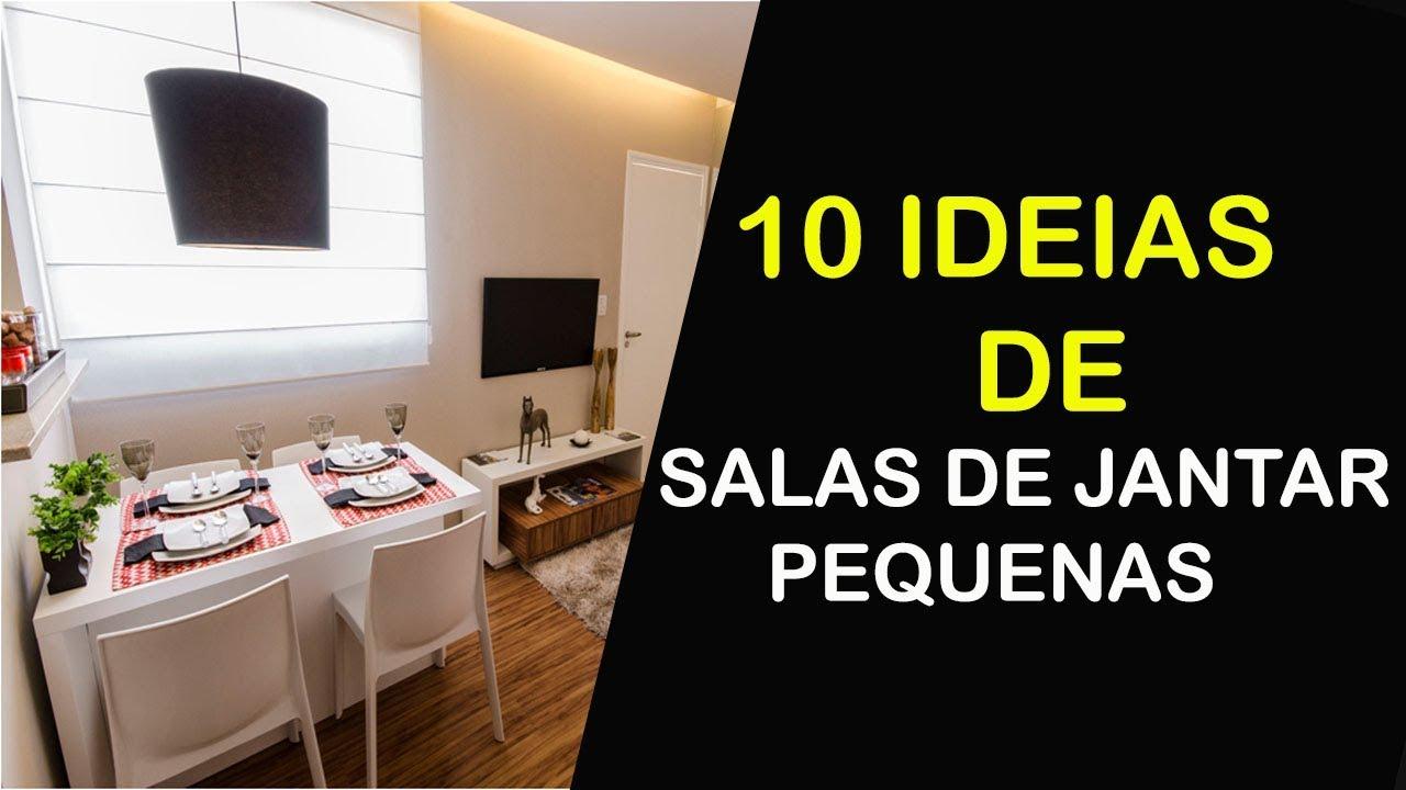 10 Ideias De Salas De Jantar Pequenas E Modernas Com Espelho Bem
