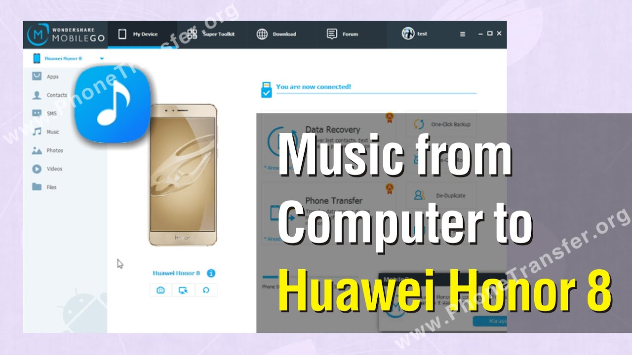 How to copy music files from PC to honor 7x  When I tried
