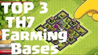 TOP 3 FARMING BASES Rathaus 7 / TH7 || CLASH OF CLANS || Let's Play COC [Deutsch/German HD]