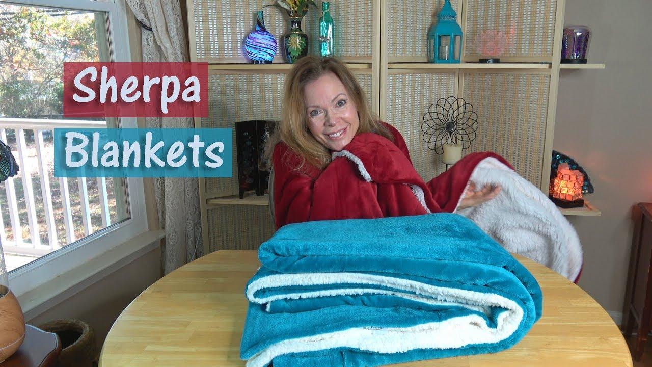 Sherpa Fleece Blanket 🌼 BEDSURE Review | GIFT IDEAS! 👈