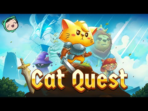 A MIXTURE OF GAMES + CATS | Let's Play: Cat Quest |
