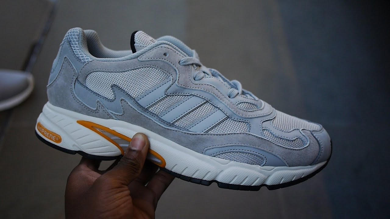 e0e0d3a9 Adidas Temper Run OG Review & On Feet *2018* (Grey) - YouTube