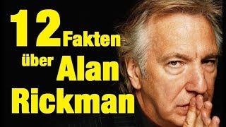 12 FAKTEN über Alan RICKMAN