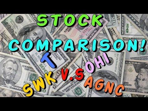 Stock Comparison - Stanley Black & Decker Inc 1% Yield Vs. 6%+ Yield Stocks