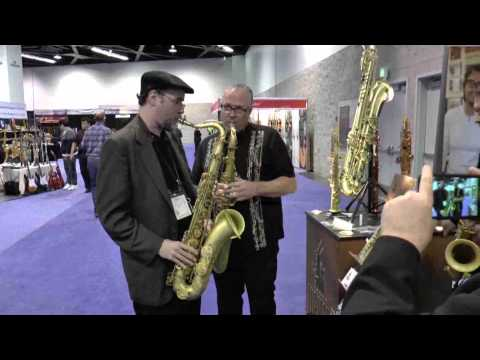 Musicisti - Namm 2015 - Lupifaro Sax