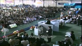 Murtaza Manan - Jalsa Salana UK 2012 - Tujhe Hamd o Sanaa Zeba Hai Pyare - Nazam