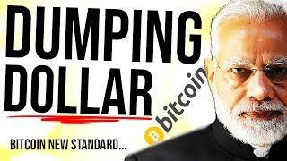 RUSSIA & INDIA DUMP DOLLAR 😳 Bitcoin Standard?