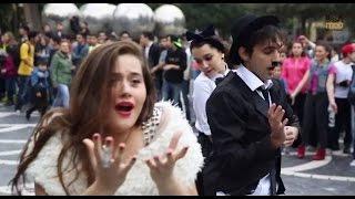 Chaplin Foxy Flashmob | FLASHMOB Azerbaijan