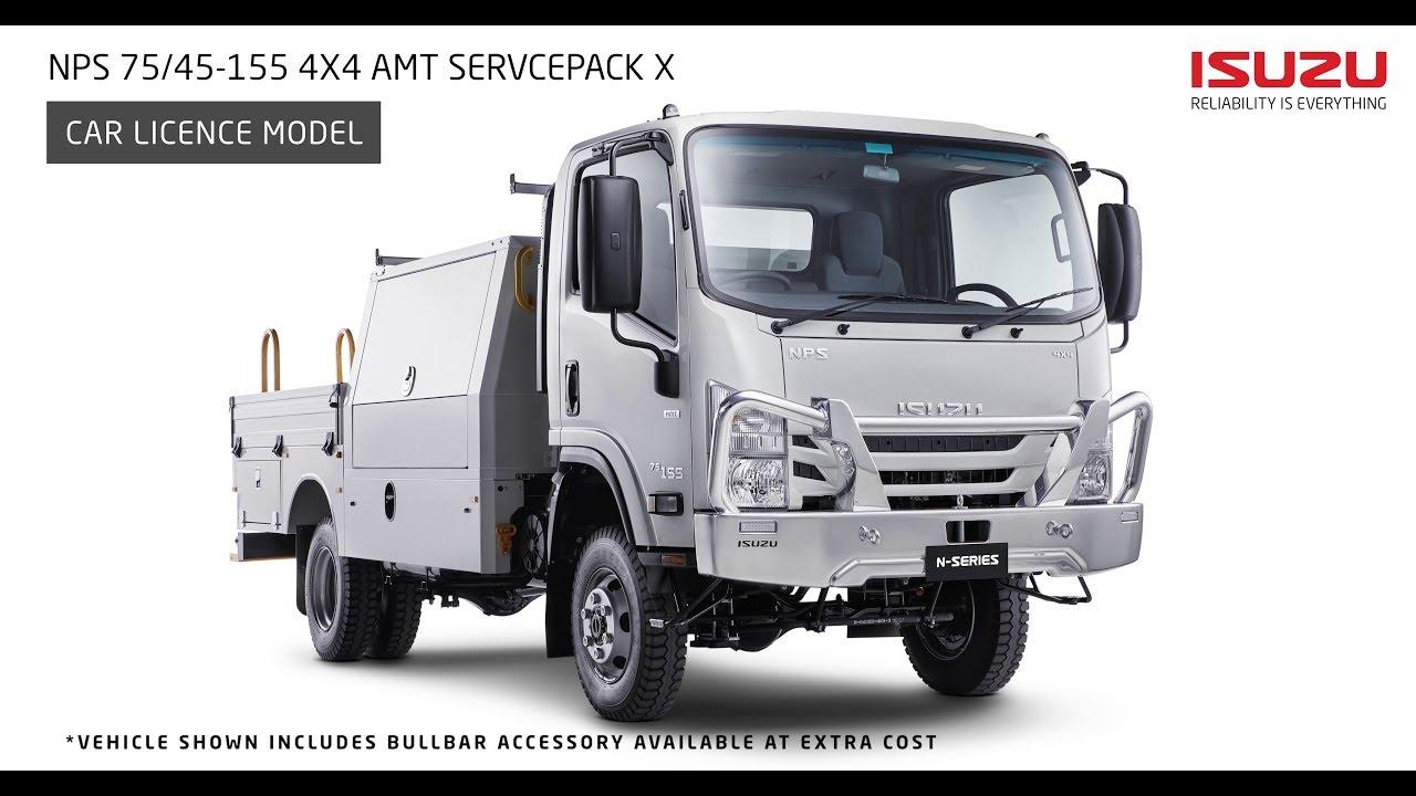 Isuzu N Series NPS 75/45-155 4x4 Servicepack X Walkaround : Isuzu Australia  Limited