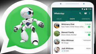 Cara Menambahkan Robot Canggih Di WhatsApp !!! Pecinta WhatsApp Wajib Coba