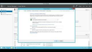 Центр обновления Windows в Windows Server 2012 R2