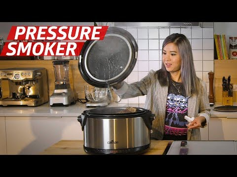Can The $150 Caiman Pressure Smoker Make Great Barbecue Indoors? — The Kitchen Gadget Test Show