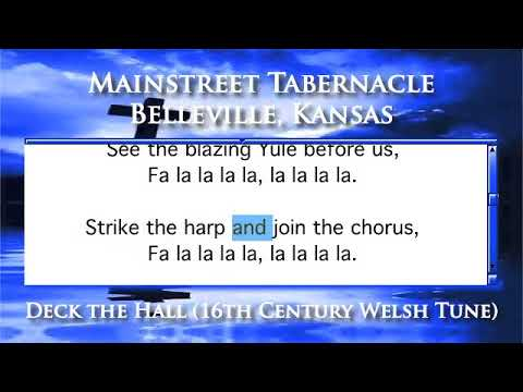 Deck the Hall (16th Century Welsh Tune) - Piano Version