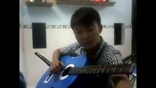 Tóc Em Đuôi Gà - Quang Linh (guitar solo)
