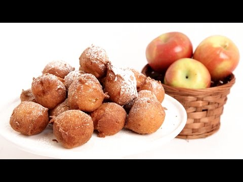 Apple Fritter Recipe - Laura Vitale - Laura in the Kitchen Episode 838