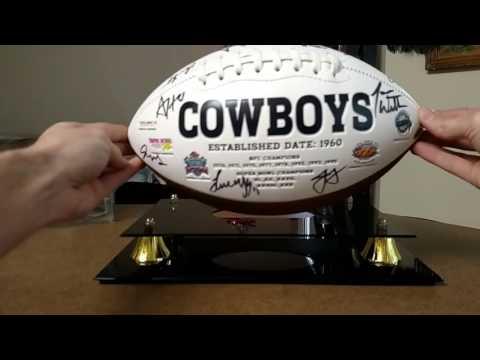 2016 Dallas Cowboys Team Autographed Football