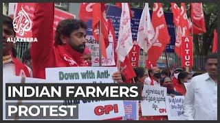 Indian farmers block roads, railways over farm bills