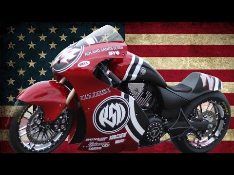 "Victory ""The Road to 200"" by ROLAND SANDS DESIGN - Cafe Racer 