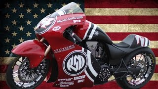 """Victory """"The Road to 200"""" by ROLAND SANDS DESIGN - Cafe Racer 