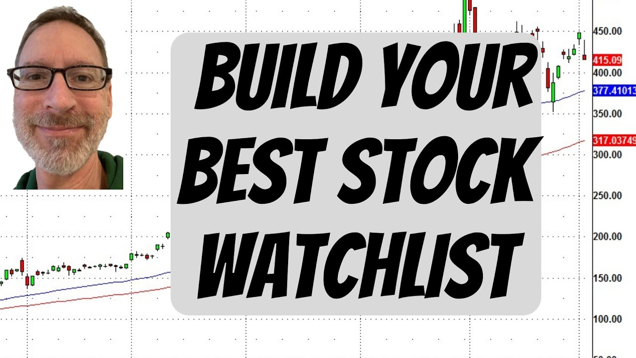 How to Build Your Best Stock Watchlist
