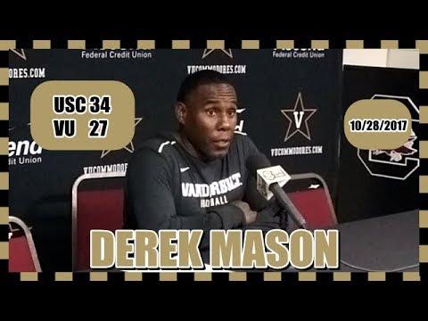 Derek Mason - South Carolina Post Game