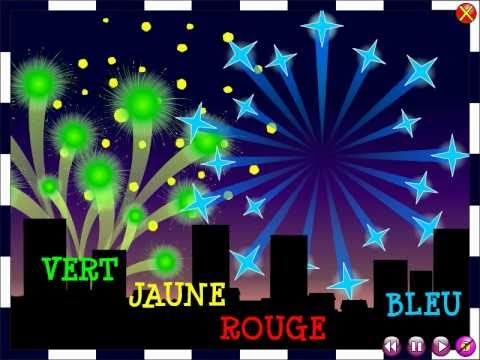 Les feux d'artifice - The fireworks / Comptine - Nursery rhyme