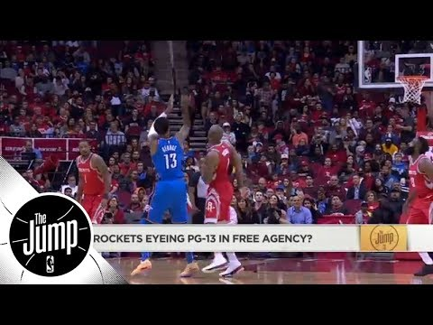 Would Paul George play well with James Harden and Chris Paul on Rockets? | The Jump | ESPN