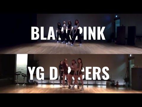 blackpink vs. yg dancers