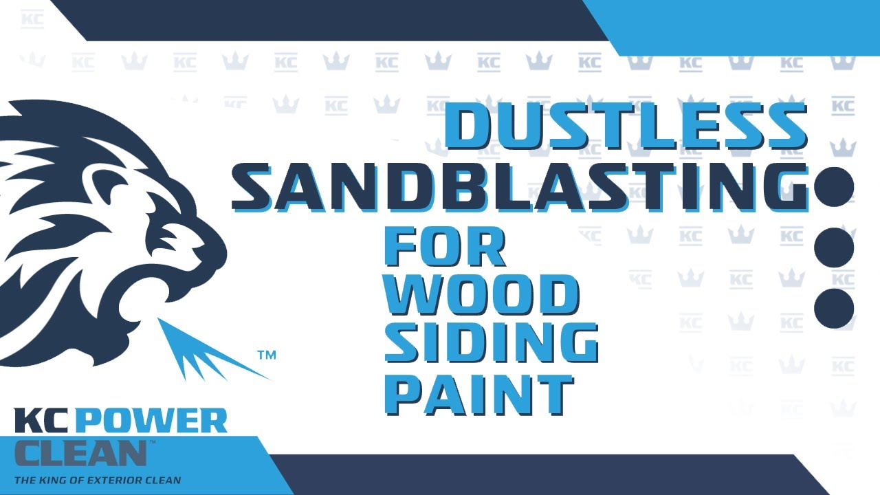 Dustless blasting to strip paint off a wood siding home for Best paint to use for outdoor mural