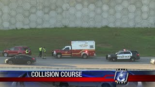 Accident on I37 near Highway 77 causing delays
