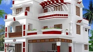 Top 100 Modern House Front Elevation Free Download