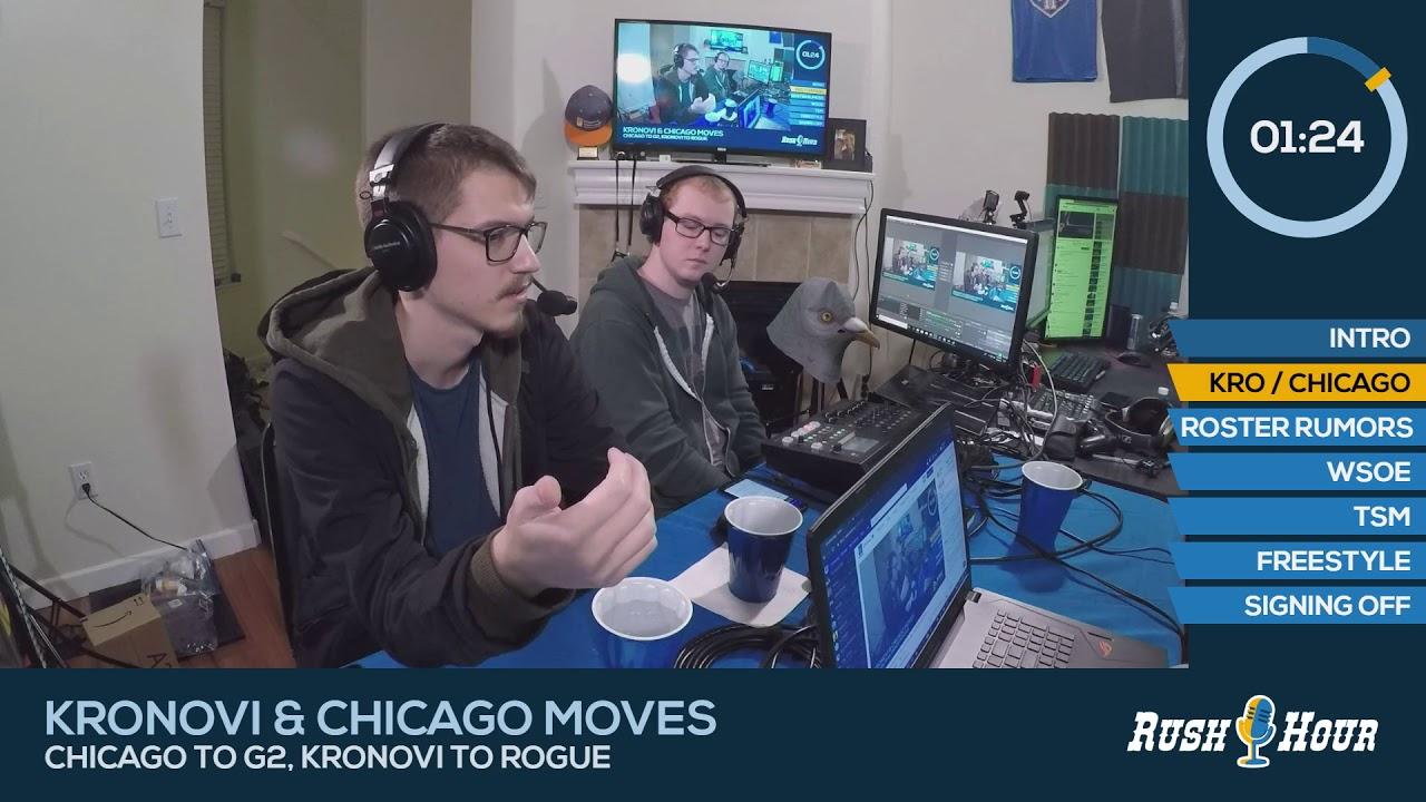 Download Rush Hour Episode 9 | Kronovi/Chicago Shuffle, WSOE, TSM, Gold Rush 3...?
