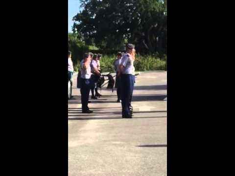 Sarasota Military Academy formation