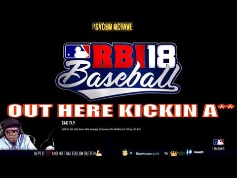R.B.I Baseball 2018 - GamePlay || Dodgers vs Tigers ||