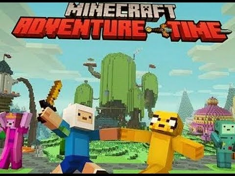 ADVENTURE  TIME MINECRAFT EP1 TOUR