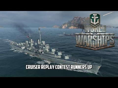World of Warships - Cruiser Replay Contest Runners Up