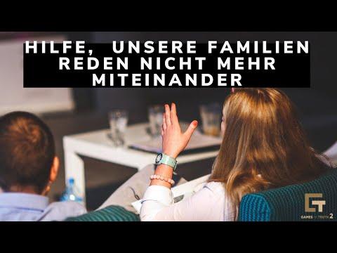 Hilfe, unsere Familien reden nicht mehr miteinander