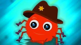 Incy wincy蜘蛛 | 孩子们的蜘蛛歌曲 | 蜘蛛歌儿童漫画和婴儿歌曲 | Incy Wincy Spider | Kids Channel China