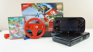 Mario Kart 8 Limited Edition Wii U BUNDLE Unboxing